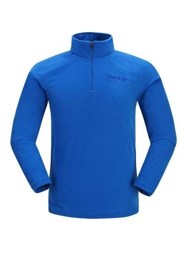 2AS 2AS Prado Yarım Fermuarlı Erkek Polar Mavi